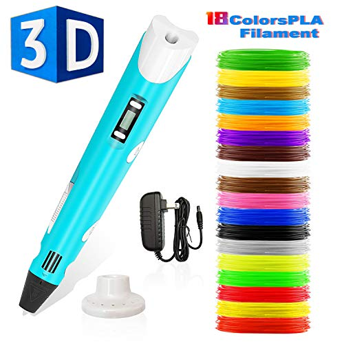 Stylo 3d,Lovebay3d impression pen avec écran LED,compatible...