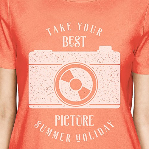 365 Printing -  Canotta  - Maniche corte  - Donna Take Your Best Picture Summer Holiday