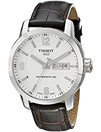 Tissot Herren-Armbanduhr Analog Automatik Leder T055.430.16.017.00