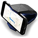 Shopizone® Universal Car Phone Holder Dock Cradle Stand For Mobile Smart Phone (Black)