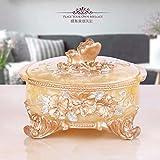 XOYOYO Cenicero de vidrio Cenicero Moda creativa Salón mesa de café ornamentos antiguos europeos Cenicero, Tapa del cenicero Butterfly