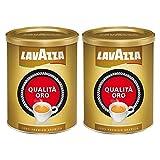 Lavazza Kaffee Qualità ORO, gemahlen in Dose (2 x 250g)
