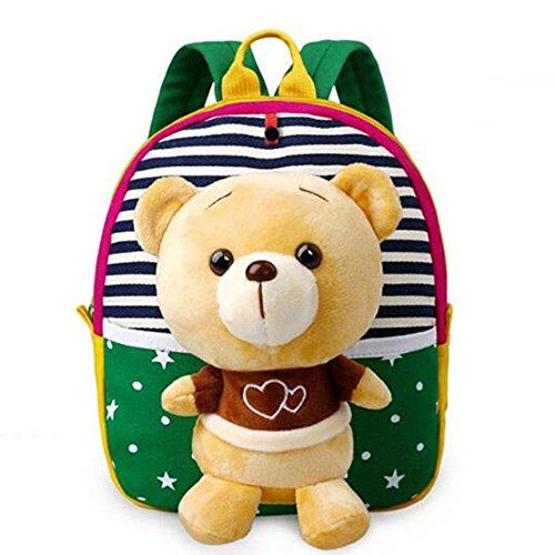 Touchfive Unisex Baby Rucksack Kindergarten Kinder Schultasche Geschenk für Weihnachten Halloween Karneval 1 bis 6 Jahre (3)