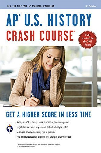 AP??? U.S. History Crash Course Book + Online (Advanced Placement (AP) Crash Course) Paperback January 15, 2015