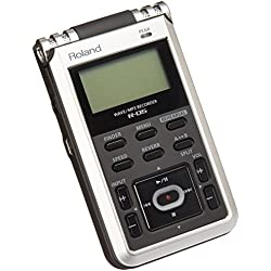Edirol R-05 lector y grabador de MP3 - Reproductor MP3 (Flash-media, SD, SDHC, 128 x 64 Pixeles, MP3, WAV, 16 h, 30 h) Negro, Plata (importado)