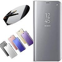 """Nadoli für iPhone 6S 4.7"""" Spiegel Hülle,Mirror Effect PU Leder Hülle Transparent Case Cover Handytasche Book PC... preisvergleich bei billige-tabletten.eu"""