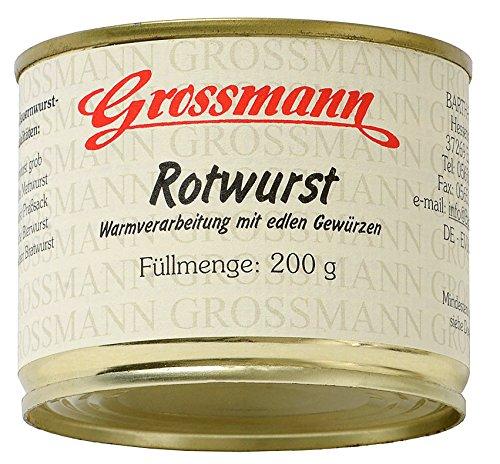 Grossmann - Rotwurst - 200g