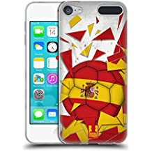 Head Case Designs España Saltos De Fútbol Caso de Gel Suave para Apple iPod Touch 6G 6th Gen