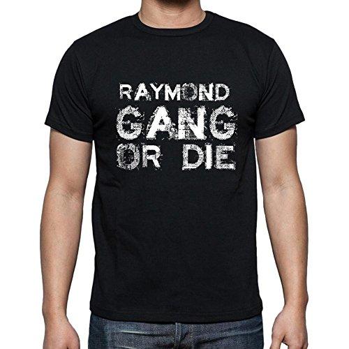 raymond-family-gang-camiseta-para-las-hombres-manga-corta-cuello-redondo-negro