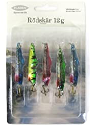 5 Fladen Fishing Tackle 12g Lures Size 8 Trebles Perch Pike Mackerel Bass