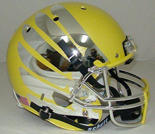 ncaa-oregon-ducks-yellow-wing-and-carbon-fiber-replica-helmet-one-size-white-by-schutt-sports