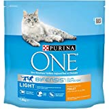 Purina One Light - au Poulet et au Blé - 1,5kg - Croquettes pour Chat Adulte - Lot de 6
