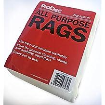 1kg All Purpose Lint Free Rags voor Meubilair Schilderen Waxing Reinigingsdoekjes Wasbaar