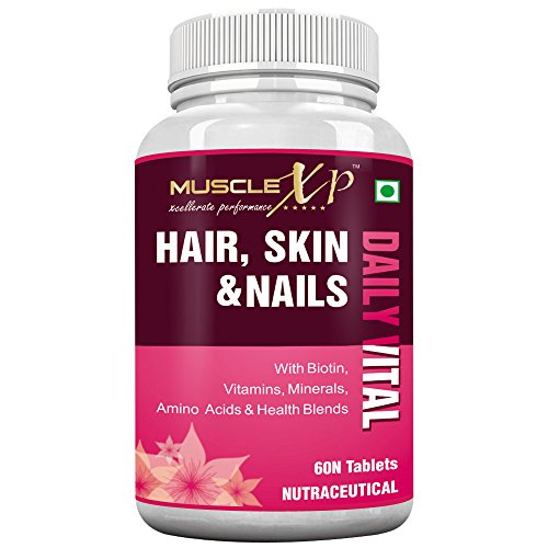 MuscleXP-Biotin-Hair-Skin-Nails-Complete-MultiVitamin-With-Amino-Acids-36-Nutrients-60-Tablets-Useful-for-Hairfall-Hair-Loss