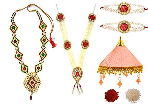 Aashya Mayro Mataji Jewellery For Pooja and Decoration Combo Set For Navratri...
