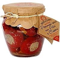 Kirschpaprika gefüllt mit Sardellen und Kapern 170gr