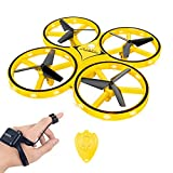 Hotbird Mini Drone for Kids, Infrared Induction Obstacle Avoidance One-Handed Control RC Quadcopter
