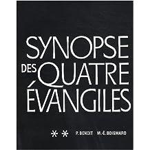 Synopse des quatre évangiles en français : Tome 2