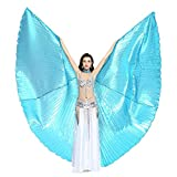 Dance Fairy Danse du Ventre Ailes d'Isis pour les fêtes avec Bâtons / Tiges (Lac Bleu)