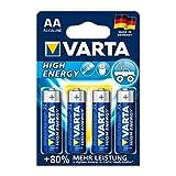 Varta High Energy Batterie (AA, Mignon, Alkaline, LR6 , 4er Pack)