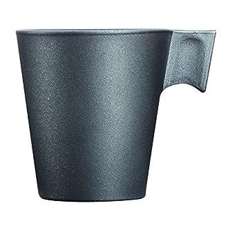 Luminarc Loft Stony Tazza caffè, Nero, 7.5x6x6.5 cm