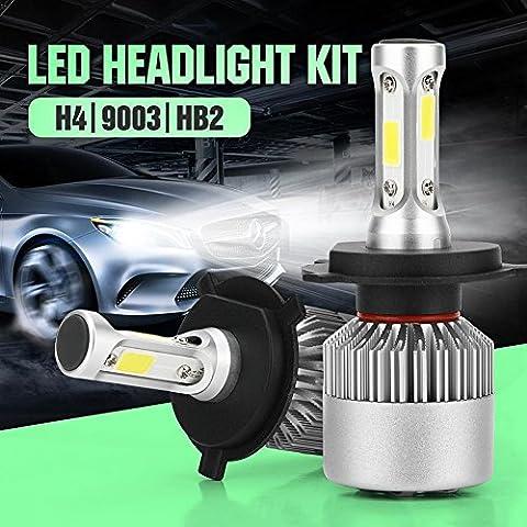 40W 4000LM Phare de voiture S2 X3 6000K lumières led P68 Lo Beam 2Yr Garantie , H4.HB2.9003