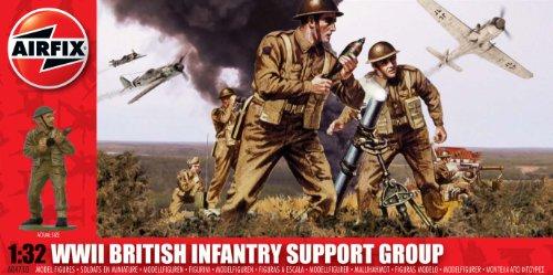 Airfix A04710 - Set di soldati della fanteria inglese, Serie 3, WWII, Scala 1:32