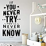 30 * 57cm Fashion Waterrepous Wall Sticksers Wall Art Decorations Living Room Diy Home Decorazioni Accessori