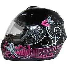 casque moto feminin