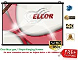 #10: Elcor Pro Map Type Projector Screen (4Ft X 6Ft), HD Quality