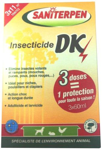 Saniterpen Insecticide DK pour Locaux et Matériel...