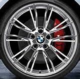 Original BMW Alufelge 4er F32-F33 M Doppelspeiche 624 Poliert in 20 Zoll für vorne