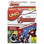 Get ready to unleash your superhero power in the avengers version of uno card game. Classic uno rules apply, and with the addition of a special rule and 4 corresponding action cards, players get the chance to experience all new game changing moments....