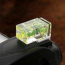 Liberty ightpro Double 2 Axis Bubble Spirit Level Camera D-SLR Hot Shoe for Canon for Nikon Olympus Camera SLR