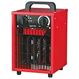 Igenix IG9302 Industrial/Commercial Fan Heater with 3 Settings, Heat Resistant Integrated Carry Handle