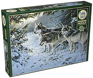 Cobblehill 80071 - Puzzle de 1000 Piezas, diseño de Lobo