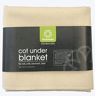 Natural pura lana merino suave bajo manta para cuna de bebé cama cuna cuna cuna. Todas las estaciones sábana bajera manta. Para Bebé, niños, niños, jóvenes. Naturalmente absorbe la humedad. Naturalmente creado con Natures tecnología.