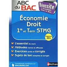 ABC du BAC Réussite Economie Droit 1re et Term STMG
