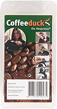 Coffeeduck Refillable Capsules for Nespresso, Universal (3 Capsules)