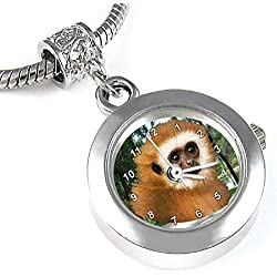 Monkey Bead Watch for Necklace or Bracelet