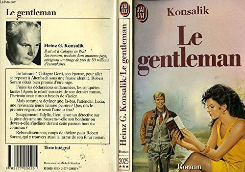 Le gentleman par Heinz, Günther Konsalik