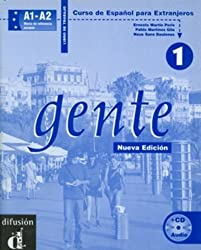 Gente 1 : Libro de trabajo (1CD audio)