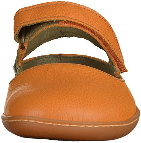 El Naturalista N5270 Soft Grain Viajero, Closed-Toe Femme Orange