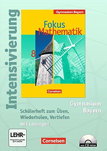 Fokus Mathematik - Bayern - Bisherige Ausgabe / 8. Jahrgangsstufe - Intensivierung, 2. Auflage