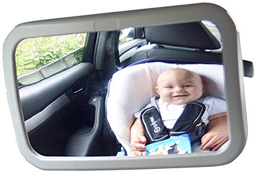 Lescars Babyspiegel: Baby-Spiegel fürs Auto (Babyspiegel Auto)