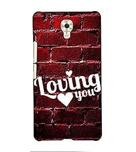 Fuson Designer Back Case Cover for Gionee M6 (Loving you theme)