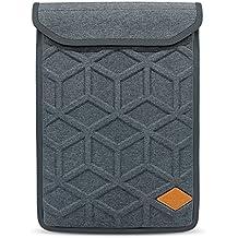 lymmax Laptop Sleeve Carcasa Funda 13/14 Pulgadas para HP DELL Lenovo ASUS Acer L