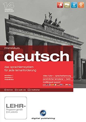 Intensivkurs Deutsch Version 14: Das Sprachlernsystem für Anfänger, Wiedereinsteiger und...
