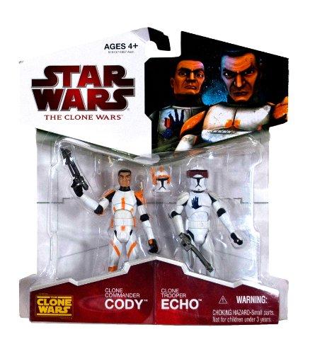 er Cody & Clone Trooper Echo - Star Wars The Clone Wars 2009 ()