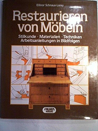 Restaurieren Von Mobeln Gebundene Ausgabe